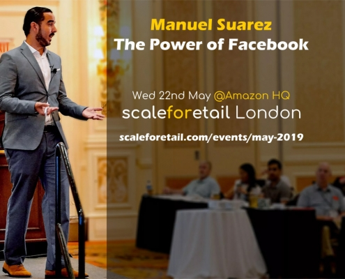 Manuel Suarez - The Power of Facebook for Amazon Sellers, ScaleForEtail London